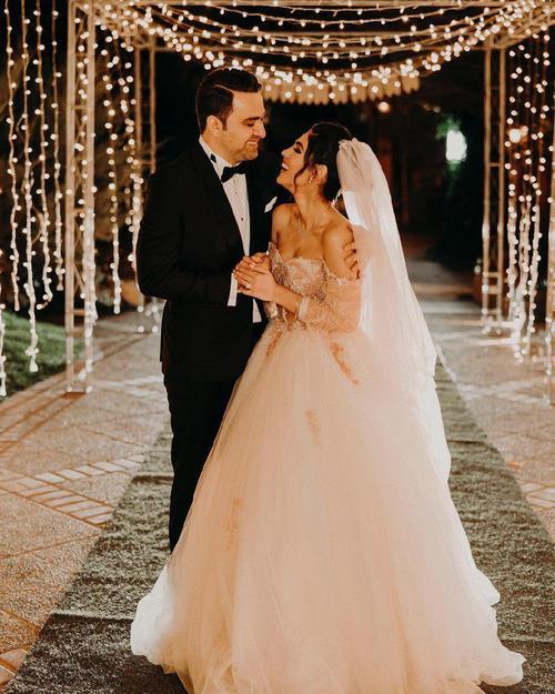 لباس عروس رامینا ترابی